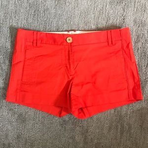 Tory Burch orange shorts - size 8